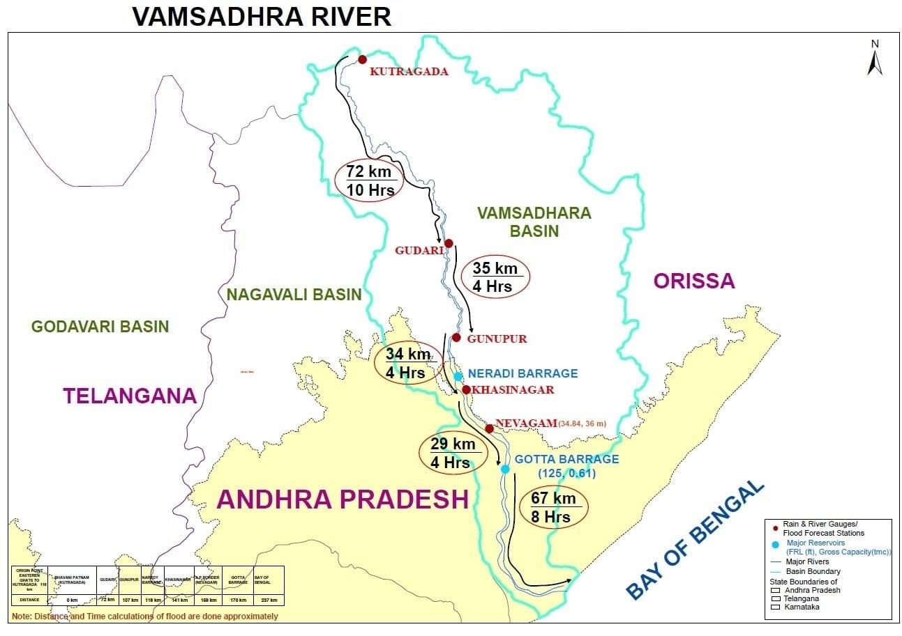 Vamsadhra-River