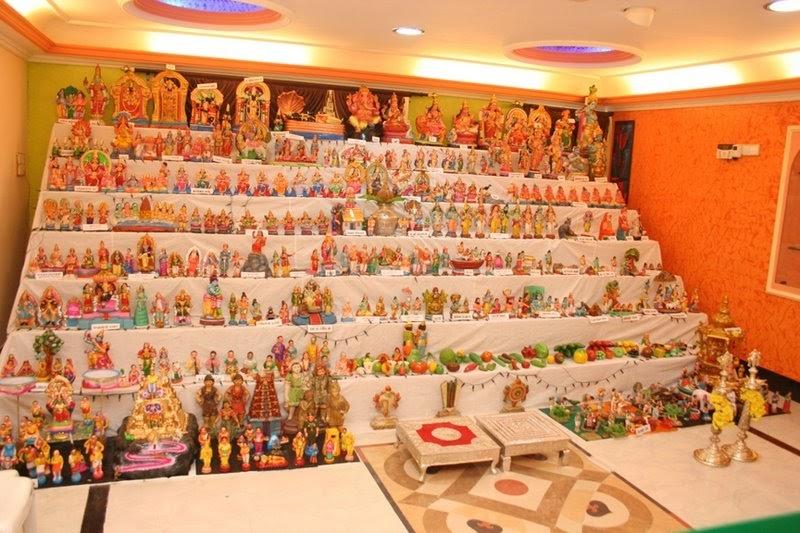 Navratri-Tradition-of-Bommai-Golu