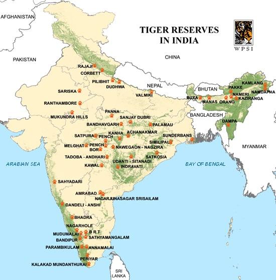 Tiger-Reserves