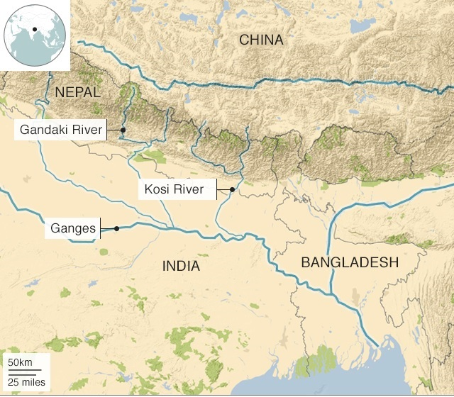 Kosi-River