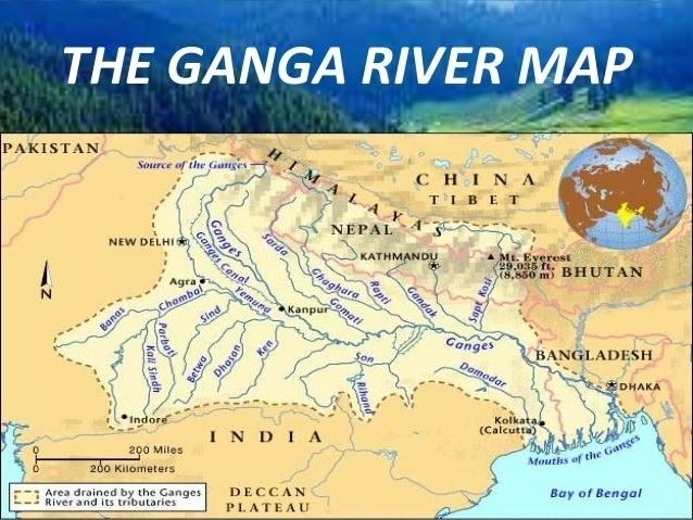 The-Ganga-River-Map