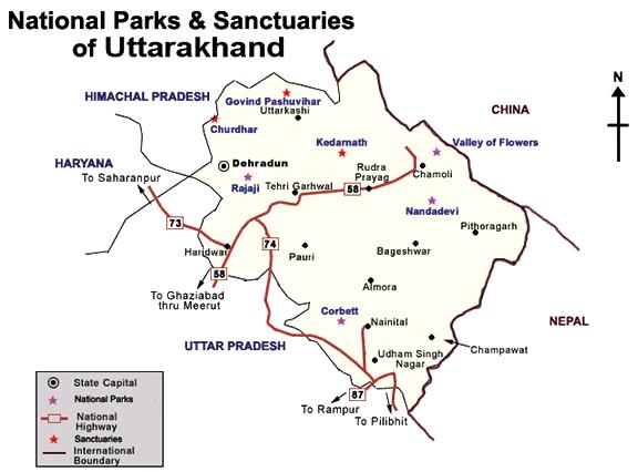 Sanctuaries-of-Uttarakhand