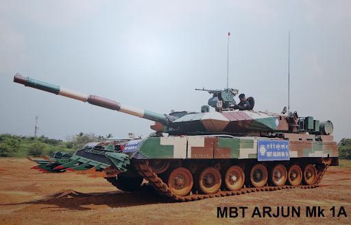 Arjun-Battle-Tanks